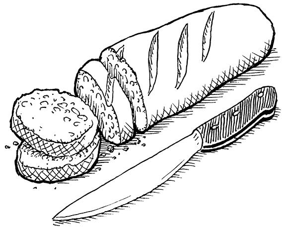 Un baguette.